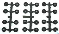 Proto by Walthers HO Universal Truck Mounting Adapter 24pk, LIST PRICE $4.98