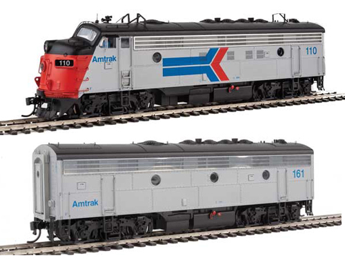 Proto by Walthers HO EMD FP7 2 pc Set Amtrak ex-SP #110, 161 Snd, DUE 12/30/2020, LIST PRICE $549.98