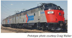 Proto by Walthers HO EMD FP7 Amtrak ex-SP #119 Snd, DUE 12/30/2020, LIST PRICE $279.98