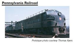 Proto by Walthers HO EMD FP7 PRR #6861A Snd, DUE 12/30/2020, LIST PRICE $279.98