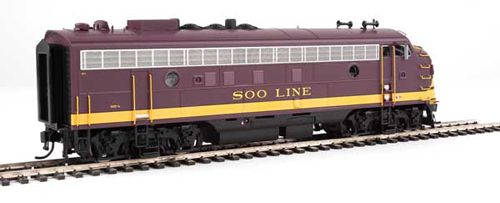Proto by Walthers HO EMD FP7 Soo Line maroon #502A Snd, DUE 12/30/2020, LIST PRICE $279.98