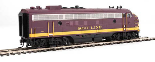 Proto by Walthers HO EMD FP7 Soo Line maroon #503A Snd, DUE 12/30/2020, LIST PRICE $279.98
