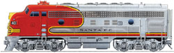 Proto by Walthers HO Santa Fe 37C F7A 44C, LIST PRICE $169.98