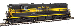 Proto by Walthers HO EMD SD9 DC NKP 353, LIST PRICE $199.98