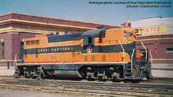 Proto by Walthers HO EMD GP7 GN 601, DUE 12/28/2019, LIST PRICE $199.98