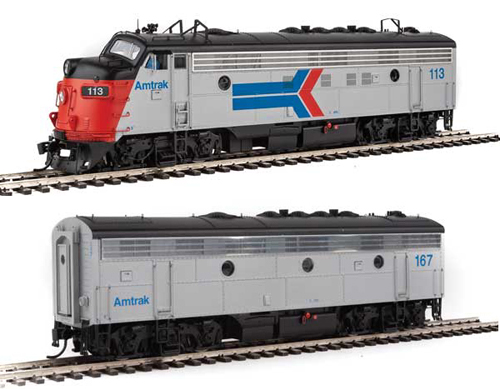 Proto by Walthers HO EMD FP7 2 pc Set Amtrak ex-SP #113, 162 , DUE 12/30/2020, LIST PRICE $369.98