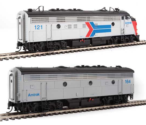 Proto by Walthers HO EMD FP7 2 pc Set Amtrak ex-SP #121, 164 , DUE 12/30/2020, LIST PRICE $369.98