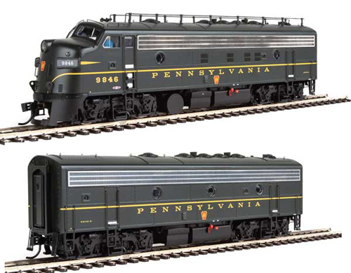 Proto by Walthers HO EMD FP7 2 pc Set PRR #6846A, 6846B , DUE 12/30/2020, LIST PRICE $369.98