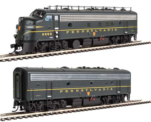 Proto by Walthers HO EMD FP7 2 pc Set PRR #6858A, 6858B , DUE 12/30/2020, LIST PRICE $369.98
