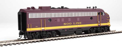 Proto by Walthers HO EMD FP7 Soo Line maroon #502A , DUE 12/30/2020, LIST PRICE $189.98