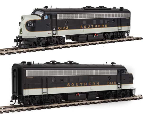 Proto by Walthers HO EMD FP7 2 pc Set Southern RW #6132, 6148 , DUE 12/30/2020, LIST PRICE $369.98