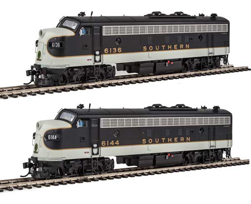 Proto by Walthers HO EMD FP7 2 pc Set Southern RW #6136, 6144 , DUE 12/30/2020, LIST PRICE $369.98