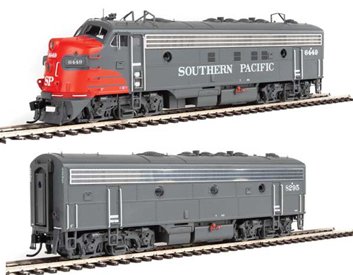 Proto by Walthers HO EMD FP7 2 pc Set SP gray & red #6449, 8295 , DUE 12/30/2020, LIST PRICE $369.98