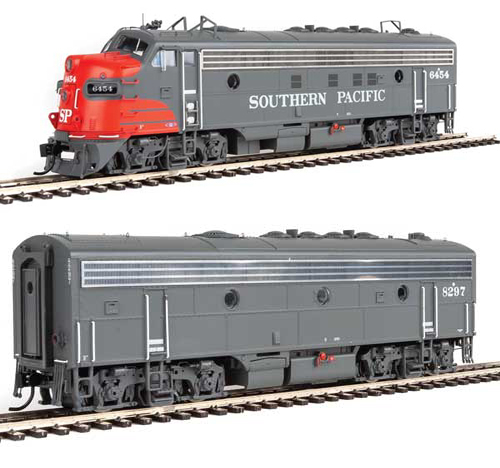 Proto by Walthers HO EMD FP7 2 pc Set SP gray & red #6454, 8297 , DUE 12/30/2020, LIST PRICE $369.98