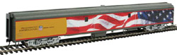 Proto by Walthers HO 85' ACF Baggage Car UP Heritage UPP 5769 US Flag , DUE 10/28/2019, LIST PRICE $89.98