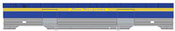 Proto by Walthers HO 72' P S Baggage Pere Marquette, LIST PRICE $74.98