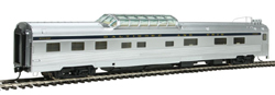 Proto by Walthers HO Delux 85' Budd B&O Light Series Strata Dome 5-1-3 Sleeper, LIST PRICE $116.5
