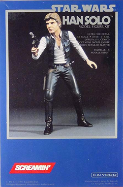 Screamin Models Han Solo 1/6 Scale, LIST PRICE $44.95