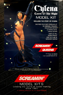 Screamin Models CYLENA-QUEEN of The NIGHT, LIST PRICE $59.95