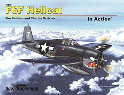Squadron Publications F-6F Hellcat in Action, LIST PRICE $19.95