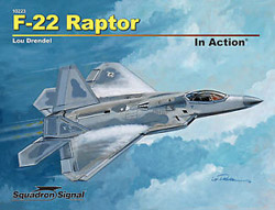 Squadron Publications F-22 Raptor In Action, LIST PRICE $19.95