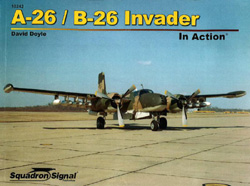 Squadron Publications A-26 Invader in Action, LIST PRICE $19.95