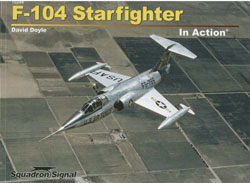 Squadron Publications F-104 Starfighter in Action, LIST PRICE $19.95
