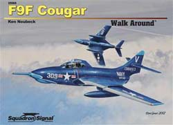 Squadron Publications F9F Cougar Walkard, LIST PRICE $18.95