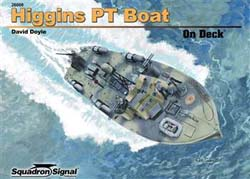 Squadron Publications Higgins 78'Pt Boat On Deck, LIST PRICE $18.95