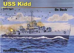 Squadron Publications Uss Kidd On Deck, LIST PRICE $18.95
