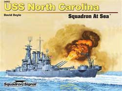 Squadron Publications Uss North Carolina, LIST PRICE $24.95