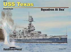 Squadron Publications USS Texas Squadron at Sea, LIST PRICE $29.95