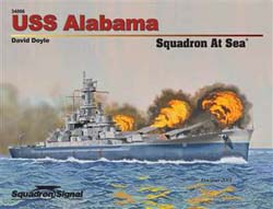 Squadron Publications USS ALABAMA atSea, LIST PRICE $24.95