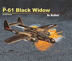 Squadron Publications Black Widow in Action Hc, LIST PRICE $28.95