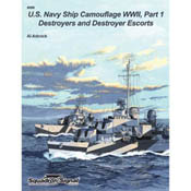 Squadron Publications US Navy Ships Camouflage WWII, LIST PRICE $16.95