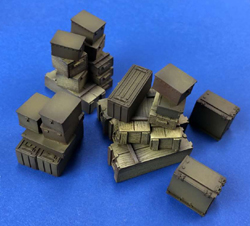Squadron Models Generic Crates + Tool Boxes 1:35, LIST PRICE $14.99