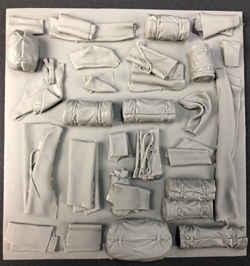 Squadron Models CANVASES and Tarps 1:35, LIST PRICE $14.99