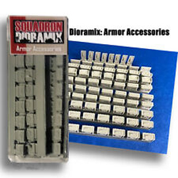 Squadron Models US 30 Cal & 50 Cal Ammo Cases WWII 1:48, LIST PRICE $14.99