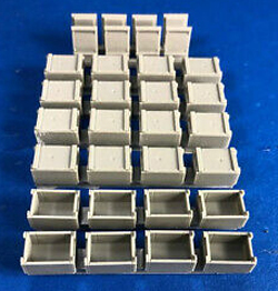 Squadron Models US 30 Cal Ammo Cases & Crates 1:48, LIST PRICE $14.99