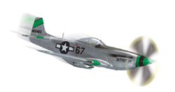 Squadron Models P-51D Mustang pp 1:72, LIST PRICE $19.99