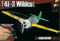 Squadron Models F4F-3 Wildcat pp 1:72, LIST PRICE $19.99