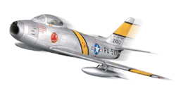 Squadron Models F-86F-30 Sabre prepainted 1:72, LIST PRICE $19.99