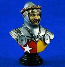 Verlinden EARL of OXFORD BUST 200mm , LIST PRICE $20.17