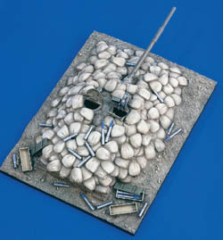 Verlinden TANK BUNKER AFGANISTAN 1:35 , LIST PRICE $54.02