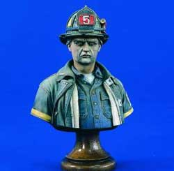 Verlinden FDNY FIREFIGHTER 200mm , LIST PRICE $18.33