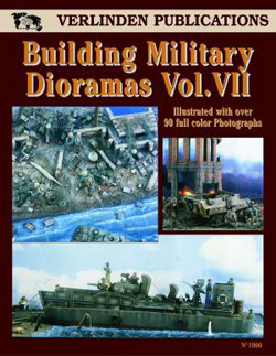 Verlinden BUILDING MILITARY DIORAMAS #7 , LIST PRICE $16.17