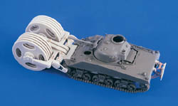 Verlinden SHERMAN M4 MINEROLLER 1:48 , LIST PRICE $24.1