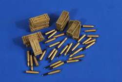 Verlinden 17pdr FIREFLY AMMO & BOXES :35, LIST PRICE $11.95