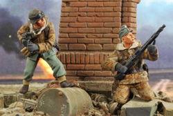 Verlinden Panzergrenadiers Mg Team 1:35, LIST PRICE $16.95