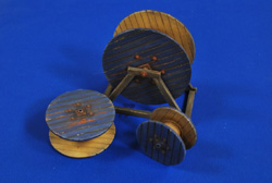 Verlinden Cable Reels 1:35, LIST PRICE $32.95